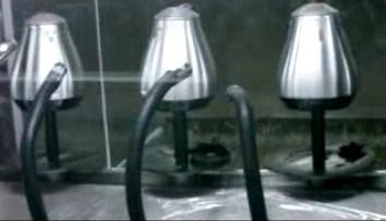 水壶除尘喷涂